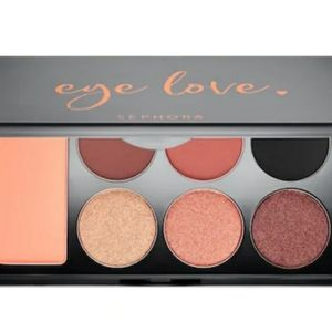 Sephora Eye Love medium warm eyeshadow palette